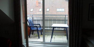 Balkon Apartment 1 und 2