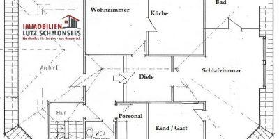 Grundriss OG Wohn und Geschaeftshaus