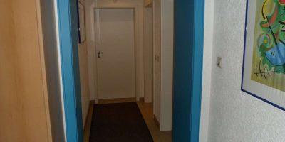 Zugang zu den Appartements